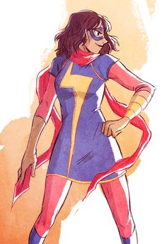 kamala khan - ms marvel by torisora.deviantart.com on @deviantART