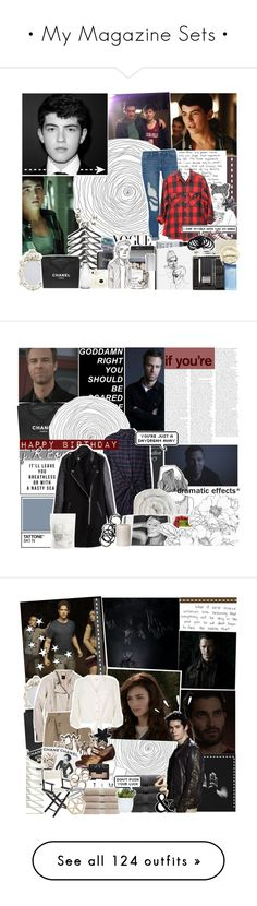 """""""• My Magazine Sets •"""" by x-jen-cozy-wolves-x ❤ liked on Polyvore featuring Frame, GET LOST, Converse, Chanel, RecycRing, Sephora Collection, Fujifilm, Threshold, Hershesons and Fresh"""