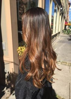 Long Wavy Ash-Brown Balayage - 20 Light Brown Hair Color Ideas for Your New Look - The Trending Hairstyle Brown Hair Shades, Brown Ombre Hair, Brown Hair With Highlights, Light Brown Hair, Ombre Hair Color, Brown Hair Colors, Purple Hair, Dark Hair, Brunette Hair Highlights