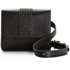 Nasty Gal Hipster Studded Belt Bag ($43) ❤ liked on Polyvore featuring bags, handbags, studded handbags, waist fanny pack, fanny bag, fanny pack purse and waist pack bag