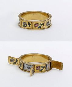 1830s - Hidden Message Rings