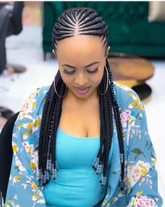 Trendy Ways to Rock African Braid styles. Best African Braids Hairstyles in 2019 Trendy Ways to Rock African Braid styles. Best African Braids Hairstyles in 2019 Braided Cornrow Hairstyles, Braids Hairstyles Pictures, African Braids Hairstyles, Fringe Hairstyles, Trending Hairstyles, Cornrows Braids For Black Women, Braids For Black Hair, Girls Braids, Long Cornrows