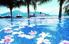 Horizon Pool, Pangkor Laut Resort, Malaysia