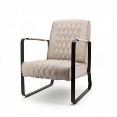 Fauteuil Caro Zand www.gigameubel.nl