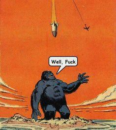 Steve Ditko's Konga Comics Vintage, Old Comics, Comic Books Art, Comic Art, Art Pulp Fiction, Pop Art, Illustration Art, Illustrations, Comic Book Panels