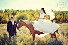 I am so excited for an upcoming wedding that will include horses! <3