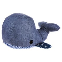 Your little one will love cuddling with this snuggly plush whale, a perfect gift for expecting parents or your precocious nephew.  P...
