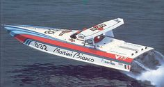 Classic Martini Racing Offshore.  Love the Wing.  #FJRP