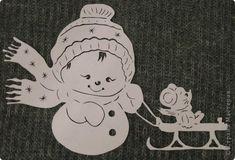 Картина панно рисунок Новый год Вырезание Рябинкин и другие Бумага фото 3