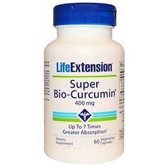 Life Extension, Super Bio-Curcumin, 400 mg, 60 Veggie Caps - iHerb.com