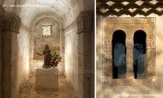Iglesia de San Salvador de Priesca, al noreste del municipio de Villaviciosa. #Asturias #Spain