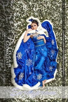 Hot Sale Royal Blue Winter Bridal Wraps Long Girls Cape Tippet Stole Shawl Bolero Satin Fabric Custom Made With Faux Fur And Blink Beads Online with $120.42/Piece on Enjoyprom's Store   DHgate.com