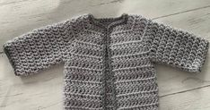 Free Crochet Pattern for a Newborn Baby Cardigan (Easy) Crochet , Free Crochet Pattern for a Newborn Baby Cardigan (Easy) Free crochet baby cardigan pattern. Easy to crochet babies cardigan Pattern. Crochet this litt. Crochet Baby Cardigan Free Pattern, Crochet Baby Sweaters, Crochet Baby Jacket, Baby Sweater Patterns, Crochet Baby Clothes, Newborn Crochet, Baby Knitting Patterns, Crochet Patterns, Beanie Pattern