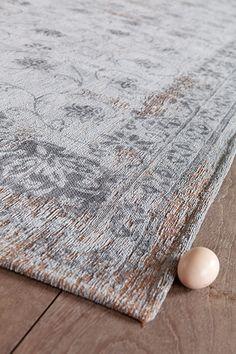 vloerkleden.com Vintage Fedra Light Grey 8099 € 549 voor afmeting 230 x 230