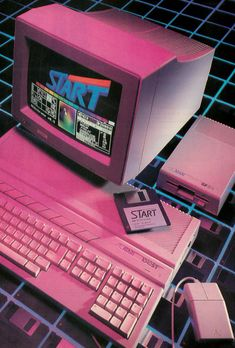 A cover image of the first published STart Atari Magazine Vol. 1 in Summer 1986.