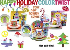Reinventing the colors for the holiday this season! Let's rock kids! http://bit.ly/11ZN5To
