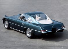 Lamborghini 350 GTV 1962- 1963 - Automotive design perfection. Not an ounce of wasted line....K