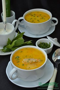 Veggie Recipes, Soup Recipes, Romanian Food, I Foods, Bacon, Curry, Good Food, Veggies, Food And Drink