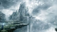 """The Gyre above the Abyssal Falls. Elegua, as the False King, was exiled here during the latter part of the Great Darkfall War. See the story """"To Destroy a God."""""""