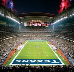 Reliant Stadium, Houston TX. - looking forward to Sunday