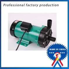 190.00$  Buy now - http://aliz9d.worldwells.pw/go.php?t=32298202748 - High Pressure Pump 220V 60HZ Water Pump MP-55R Magnetic Drive Pumps Solar System Corrosion Resistance for Liquid