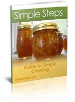 canning guide from simply canning, veggies, fruits with splenda, fruits, meat, jams, jelly, sweet spreads,