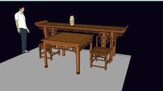 中式家具(客厅套装)Chinese traditional furniture/ Interior design - 3D Warehouse
