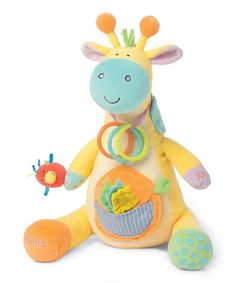 Look at this Peek-Squeak Giraffe Activity Toy on #zulily today!