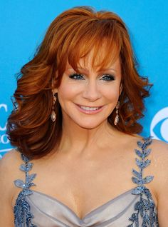 She can really belt them out 0 Reba Mcintire