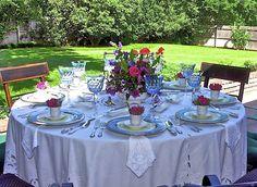 Beautiful outdoor Ladies Lunch :)