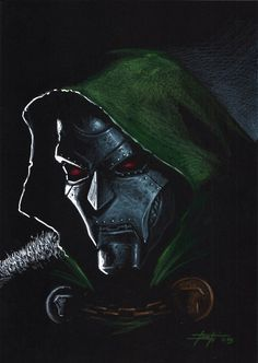 Dr Doom by Luca Strati