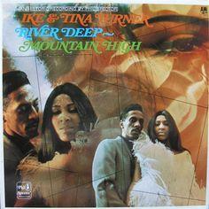 Ike & Tina Turner - LP - River Deep ~ Mountain High - 1969