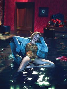Natalia Vodianova: Sleep No More - W by Mert & Marcus, December 2012