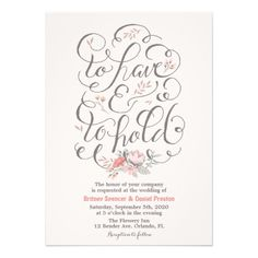 78 Best Wedding Invitation Templates Images On Pinterest
