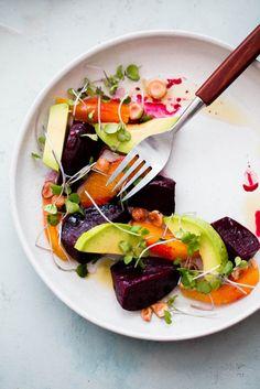 Выходные с пользой: салат из запечённой свеклы с авокадо и апельсином, массаж лица, инструкция по медитации и лучшая мотивация для занятий йогой | Salatshop ♥ You