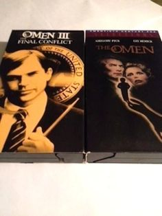 The Final Conflict: Omen III (VHS, 1989)& THE OMEN 666