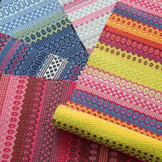 Fiesta Stripe Multi Indoor/Outdoor Rug design by Dash & Albert Indoor Outdoor Rugs, Outdoor Area Rugs, Playroom Rug, Dash And Albert, Polypropylene Rugs, Braided Rugs, Striped Rug, Burke Decor, Wool Rug