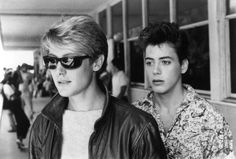 James Spader & RDJ in Less Than Zero