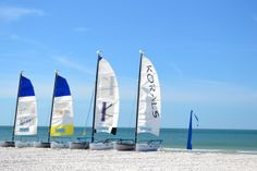 Sail into paradise.