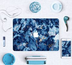 Macbook Skin Decal Sticker - Blue Deep Ocean