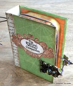 What a fabulous idea, filled with authentic Witchly goodies like herbs, potions, and beeswax votive candles!
