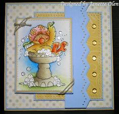 bubble bath by - Cards and Paper Crafts at Splitcoaststampers High Hopes, Atc, Bubbles, Stamps, Card Making, Paper Crafts, Handmade Cards, Card Ideas, How To Make