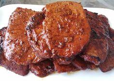 Mézes fokhagymás karaj szeletek   Ninnaska Ízvilág receptje - Cookpad receptek Pork, Kale Stir Fry, Pork Chops