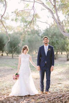 Kate & Leo's Providence Gully Woodland Wedding