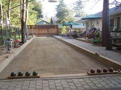 Bocce Court Ideas For My Backyard Bocce Ball Court