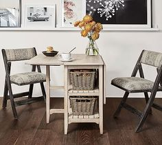 Stunning Pottery Barn for Small Spaces Ideas — Fres Hoom Table For Small Space, Small Space Storage, Small Tables, Small Space Living, Furniture For Small Spaces, Dining Room Furniture, Home Furniture, Furniture Ideas, Apartment Furniture