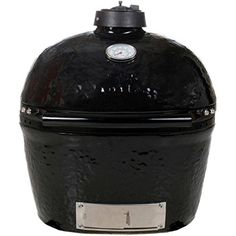 Primo 774 Ceramic Charcoal Smoker Grill, Oval Junior >>> Continue to the product at the image link.