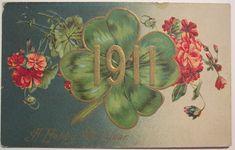 https://flic.kr/p/4iHhPi | Vintage New Years Postcard