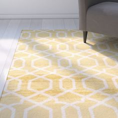 Found it at Joss & Main - Tuscan Yellow Indoor Area Rug