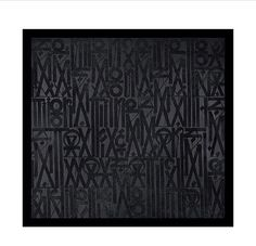 All black everything | #RETNA